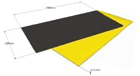NON SLIP FIBREGLASS SAFETY FLOORING - FLAT SHEETS