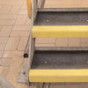 NON SLIP FIBREGLASS SAFETY STAIR COVER