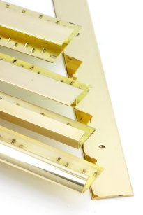 CLICK HERE FOR LARGER IMAGE OF SOLID BRASS CARPET TRIMS